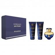 Souprava sdámským parfémem Dylan Blue Versace (3 pcs)