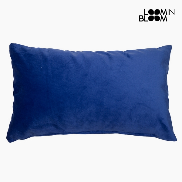 Polštářek Polyester Modrý (30 x 50 x 10 cm) by Loom In Bloom