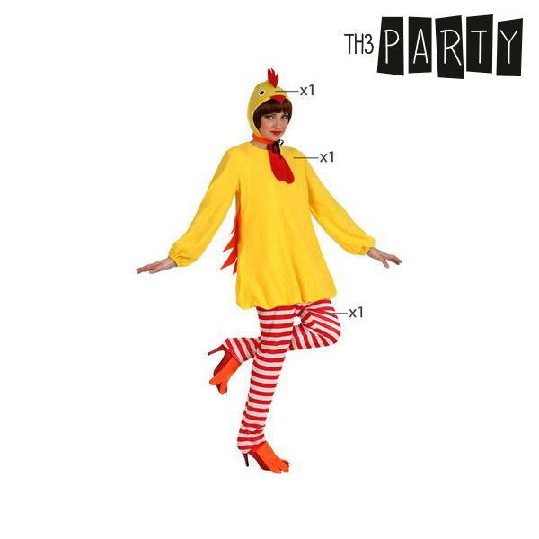 Kostium dla Dorosłych Th3 Party Chicken - XL