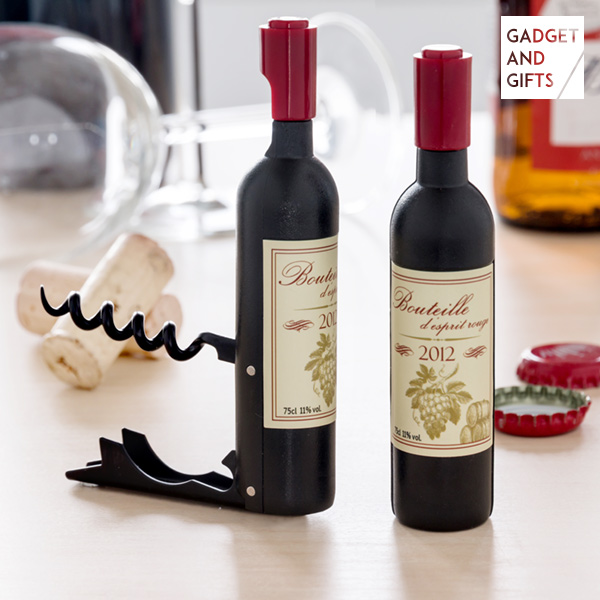 Magnetická Vývrtka s Otvírákem na Láhve Wine