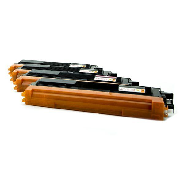 Recyklovaný toner iggual IGG315323 Brother TN-230 Černá/azurová/purpurová/žlutá