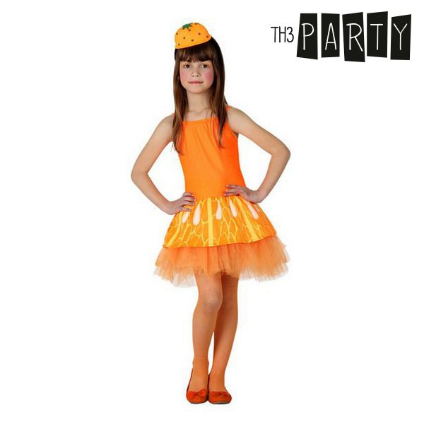 Kostium dla Dzieci Th3 Party Pomarańczowy - 3-4 lata