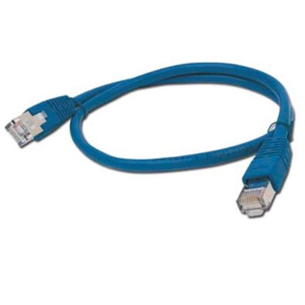 Kabel Kategorie 6 FTP iggual IGG309988 1 m Modrý