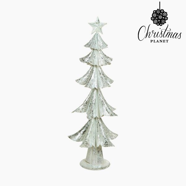 Vánoční stromeček Železo Stříbřitý (25 x 25 x 63 cm) by Christmas Planet
