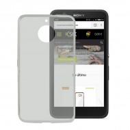 Puzdro na mobil Lenovo E4 Flex TPU Transparentná