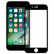 Ochrona Ekranu ze Szkła Hartowanego na Telefon Komórkowy Ref. 101639 4D iPhone 7 Czarny