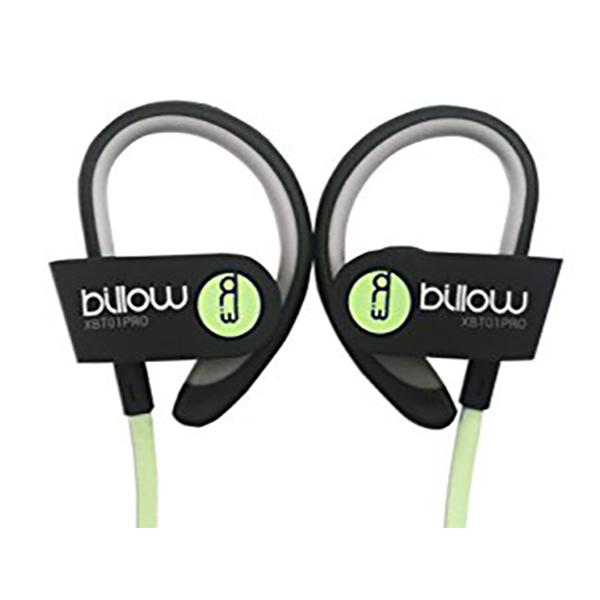 sportovní sluchátka Billow MAUAMI0580 XBT01PROG Bluetooth 4.0 Zelená