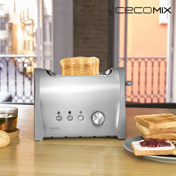 Toster Cecomix Steel 2S 3035 800W
