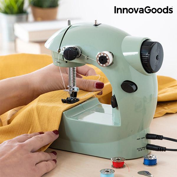 Mini Šicí Stroj InnovaGoods 6 V 800 mA Zelený
