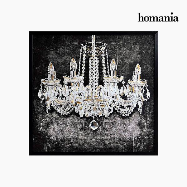 Obraz Olejny (100 x 3 x 100 cm) by Homania