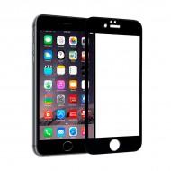 Ochrona Ekranu ze Szkła Hartowanego na Telefon Komórkowy Ref. 101653 4D iPhone 6 Czarny