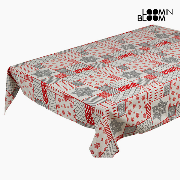 Obrus Czerwony (135 x 250 x 0,05 cm) by Loom In Bloom