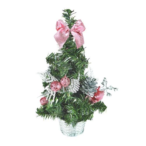 Malý Vánoční Stromeček s Ozdobami