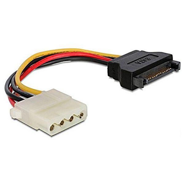 Napájecí Kabel SATA iggual APTAPC0463 IGG311769 0.15 m Molex