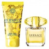 Souprava sdámským parfémem Yellow Diamond Versace (2 pcs)