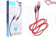 Nabíjecí a synchronizační Micro USB kabel TD-LTE CA-24 (100cm) - Červený