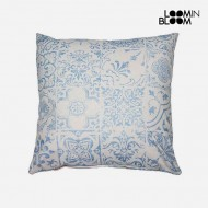 Poduszka Niebieski (60 x 60 cm) - Queen Deco Kolekcja by Loom In Bloom