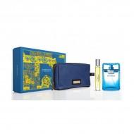 Souprava spánským parfémem Eau Fraîche Versace Nezbytné (3 pcs)