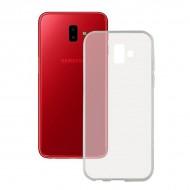 Puzdro na mobil Samsung Galaxy J6+ 2018 Flex TPU Transparentná