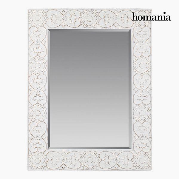 Lustro Kwadratowy Biały - Pure White Kolekcja by Homania