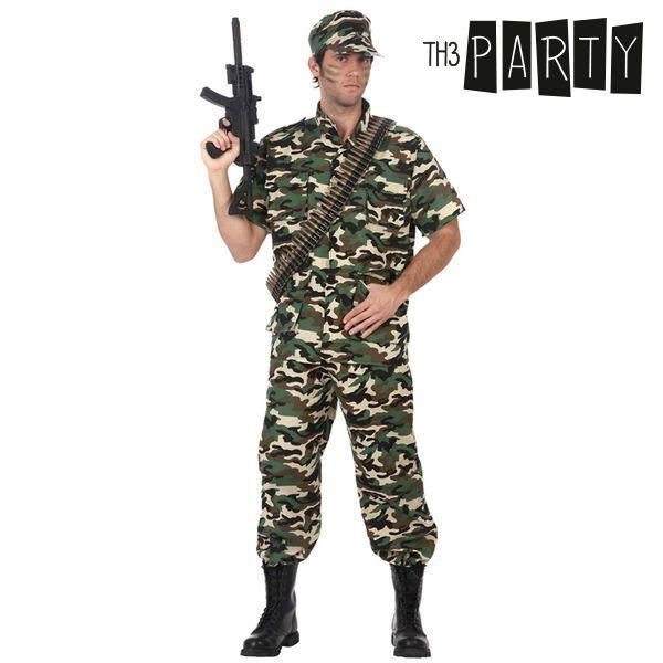 Kostium dla Dorosłych Th3 Party Żołnierz moro - M/L