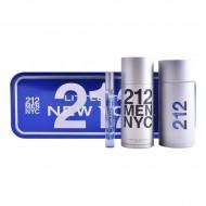 Souprava spánským parfémem 212 Nyc Carolina Herrera (3 pcs)