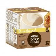 Kávové kapsle s pouzdrem Nescafé Dolce Gusto 65835 Au Lait (16 uds)