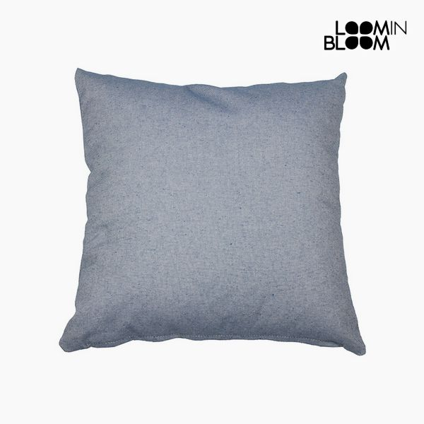 Polštářek Bavlna a polyester Modrý (60 x 60 x 10 cm) by Loom In Bloom