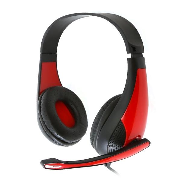 Słuchawki Gaming Omega Freestyle FH4008R Czerwony