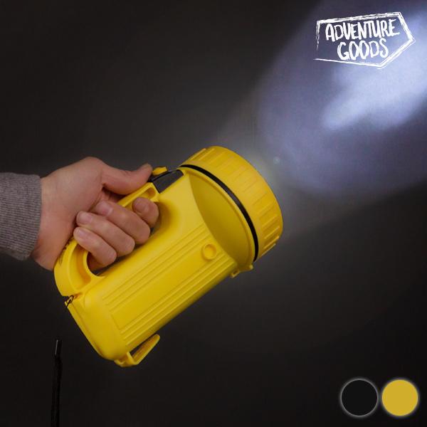 Latarka LED Adventure Goods - Żółty