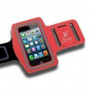 Sportovní neoprenové pouzdro na telefon X-ONE 106092 Velikost M Červený