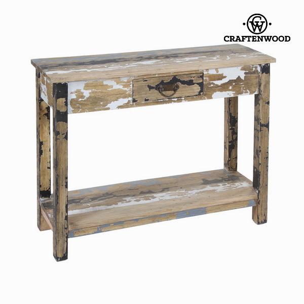 Dřevěný stolek s 1 zásuvkou - Poetic Kolekce by Craftenwood