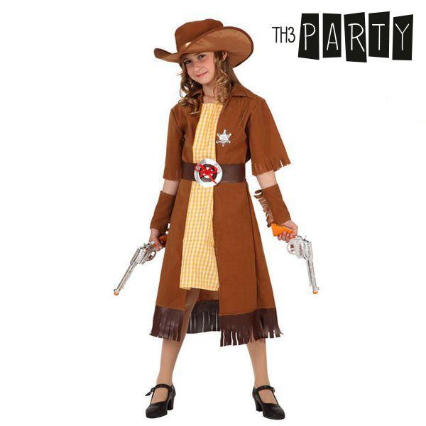 Kostým pro děti Th3 Party 2684 Žena kovboj