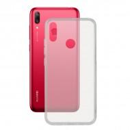 Puzdro na mobil Huawei Y7 2019 Flex Transparentná