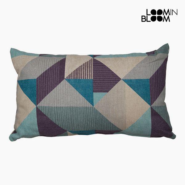 Polštářek Bavlna a polyester Modrý (30 x 50 x 10 cm) by Loom In Bloom