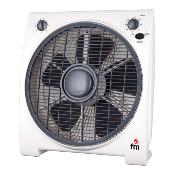 Nástěnný ventilátor Grupo FM BF4 45W Bílý