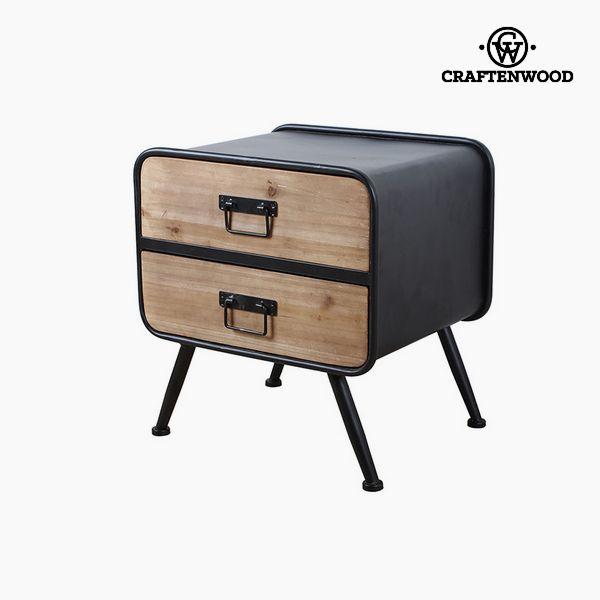 Noční stolek Jedle Laminátový Mdf (47 x 38 x 50 cm) by Craftenwood