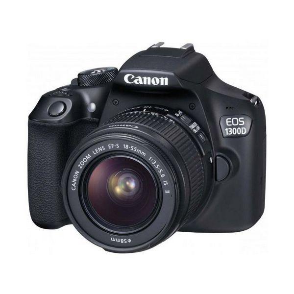 Aparat Reflex Canon EOS1300D IS II WIFI|NFC Czarny