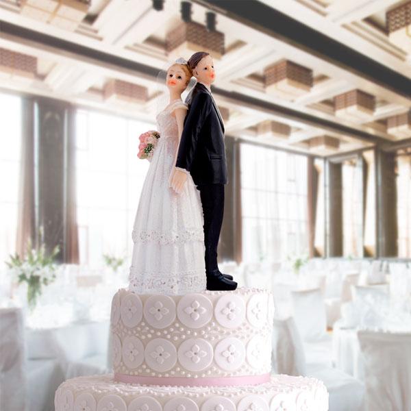 Para Młoda do Dekoracji Tortów Ślubnych