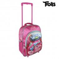 Plecak szkolny 3D z kółkami Trolls 8270