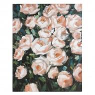 Olejomalba Roses Dřevo (80 X 4 x 100 cm)