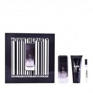 Souprava spánským parfémem 212 Vip Black Carolina Herrera (3 pcs)