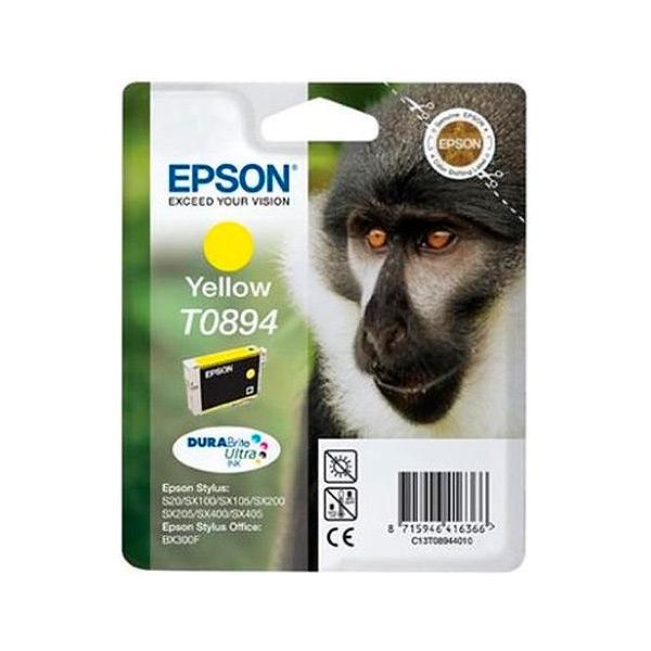Originální inkoustové náplně Epson C13T08944011 Žlutý
