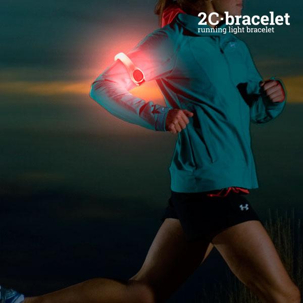 Sportowa Opaska Bezpieczeństwa LED 2C