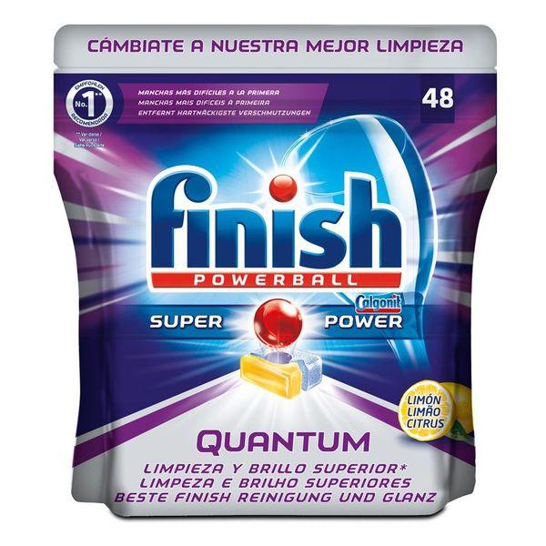 Tabletki do Zmywarek Finish Quantum Cytrus (48 sztuk)