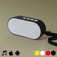 Prenosný reproduktor s Bluetooth 145152 - Červená
