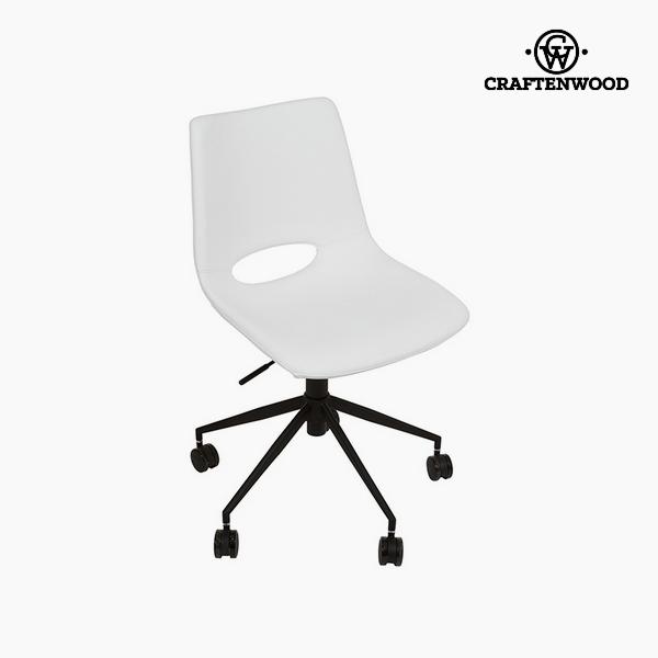 Krzesło Biały Sztuczna skóra (63 x 63 x 80 cm) by Craftenwood