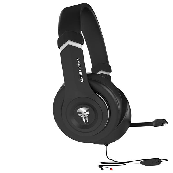 Słuchawki & Mikrofon Tacens MHHA1 MHHA1 40 mm Czarny