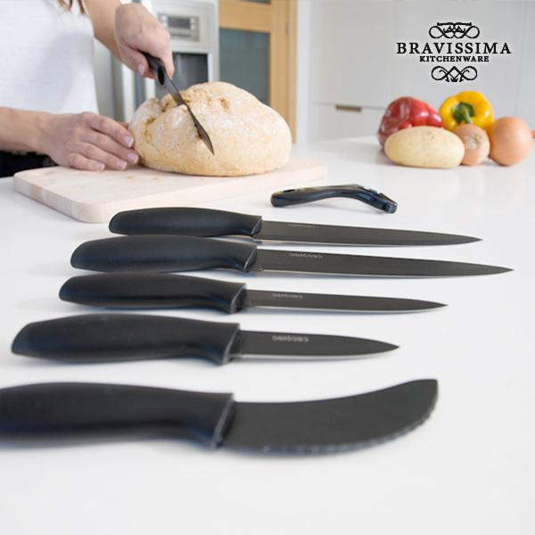Profesionální Keramické Nože Bravissima Kitchen Titanium (7 kusů)