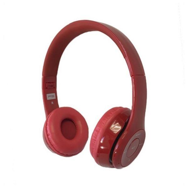 Bluetooth sluchátka s mikrofonem Omega Freestyle FH0915R Červený